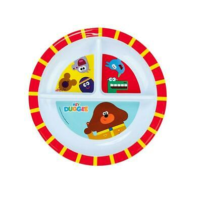 Hey Duggee Duggee and Friends Section Plate Free Shipping!