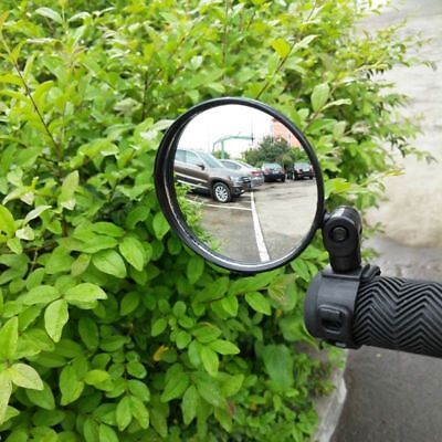 New Cycling Bike Bicycle Handlebar Flexible Safe Rearview Rear View Mirror 360°