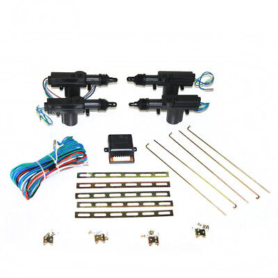 Universal 12V Car Locking Kit Central 4 Door Lock Vehicle  360 Degrees