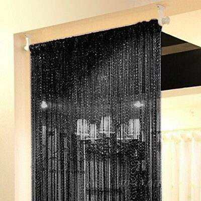 Door String Curtains Thread Fringe Window Room Divider Tassel 39x79 Inch 1 Piece
