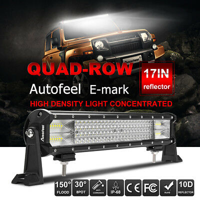 """16 inch CREE LED Light Bar SUV ATV 4WD UTE Off Road Boat Fog Truck Jeep Ford 20"""""""