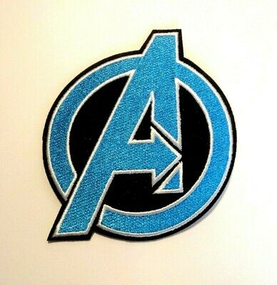 1x Marvel Avengers Logo Patches Embroidered Cloth Applique Badge Iron Sew On 1