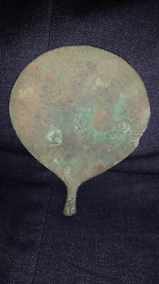 Ancient BACTRIAN GREEK BRONZE MIRROR Circa 2000 BC
