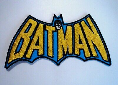 1x Batman Patch Embroidered Cloth Patches Applique Badge Iron Sew On DC 2