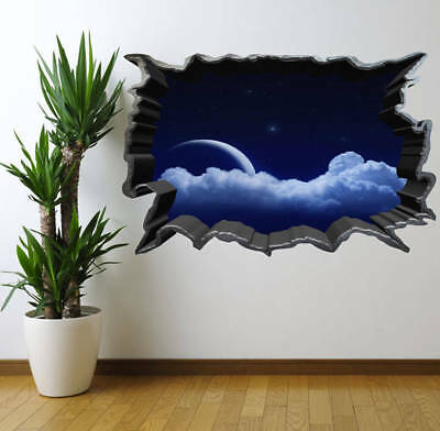 Spaceship Window Wall Art Sticker Decal Graphic Children/'s Bedroom Decor WSD276