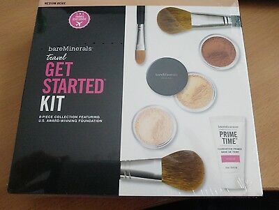 Bare Minerals Get Started Kit Brand New and sealed Medium Beige