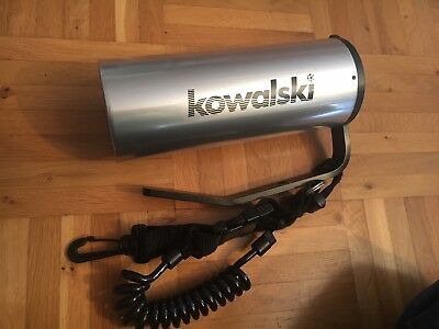 Tauchlampe Kowalski, top Zustand, silber, Modell 1250s