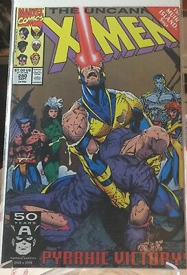 Lot Of (10) Uncanny X-Men 280 Through 289  VF/NM 1st Appearance of Bishop