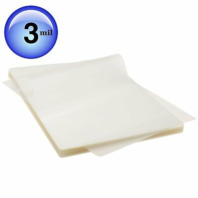 BEST Scotch THERMAL Laminating Pouches 100 PACK Count Paper Sheet LETTER SIZE