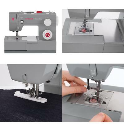Industrial Heavy Duty Sewing Machine Quilting Arm Embroidery Upholstery Singer