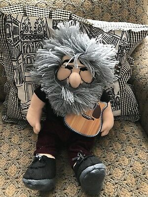 "1998 Gund/Liquid Blue Grateful Dead Jerry Garcia Plush Doll - 18"" - with Tag"