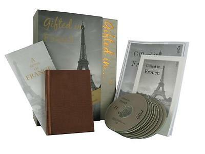 Gifted in French Book and CD Language Course Learn French