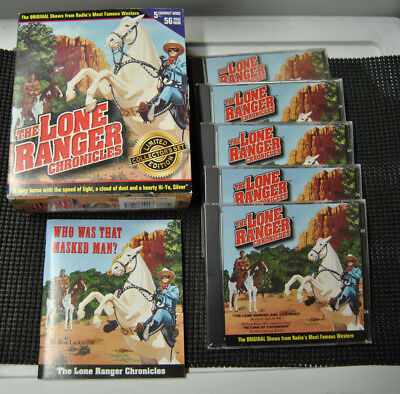 The Lone Ranger Chronicles Limited Collectors Set 5 Compact Discs Plus Book