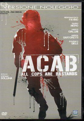 Acab - All Cops Are Bastards - Dvd (Usato Ex Rental)
