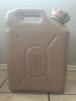 Scepter Us Military Fuel Can Gas Jerry Can 5 Gal 20L - Tan