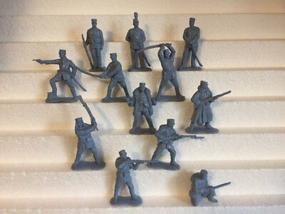 Bassevich. Japanese army. Russo-Japanese War 1904-05. Plastic 1/32 toy soldiers.