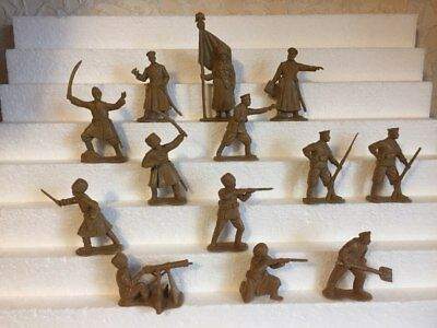 Bassevich. Russo-Japanese War 1904-05. Russian army. Plastic 1/32 toy soldiers.