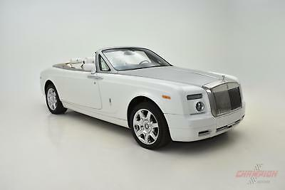 2008 Rolls-Royce Phantom -- 2008 Rolls Royce Phantom Drophead Coupe  17,391 Miles English White Convertible