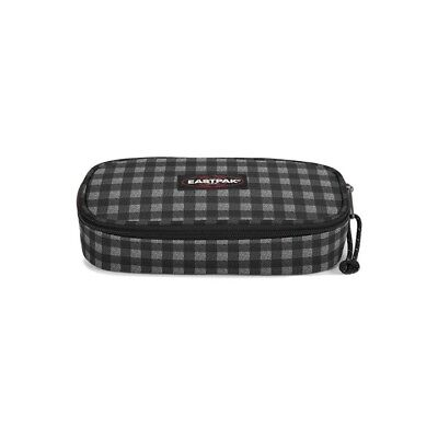 ASTUCCIO EASTPAK OVAL 22x5x9cm CHECKSANGE BLACK