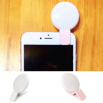 Mini Convenient LED Lamp Camera Fill-in Flash Light For Cell Phone Tablet Selfie