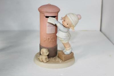 "NOS Attwell Memories Of Yesterday ""This Ones For You, Dear"" Bisque Figurine 6"" t"