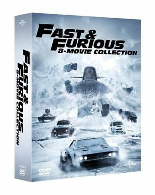 Fast And Furious 1-8 Complete Movie Collection Dvd Box Set New And Sealed!!!!!