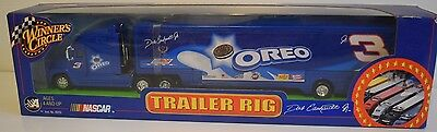 Dale Earnhardt Jr 2002 Oreo #3 Hauler/Trailer Rig Winners Circle 1:64 Scale 1b
