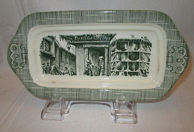 Vintage Royal China The Old Curiosity Shop Butter Dish BOTTOM ONLY