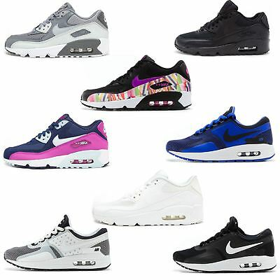 a751241168 Nike Air Max 90 & Zero GS Fashion Leather Glow Mesh Trainers All Sizes