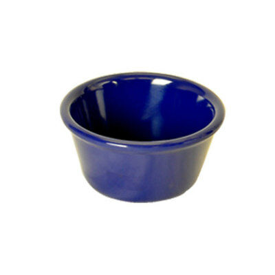 Thunder Group ML539CB1 Six Dozen Smooth Cobalt Blue Melamine 6oz Ramekins