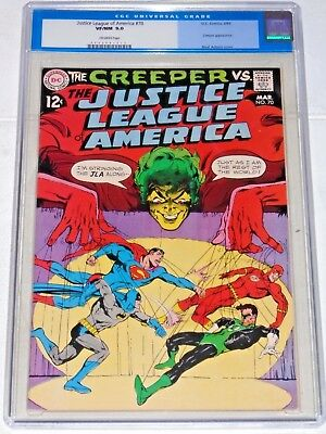 Justice League #70 comic (CGC Graded 9.0) 1969 Neal Adams art