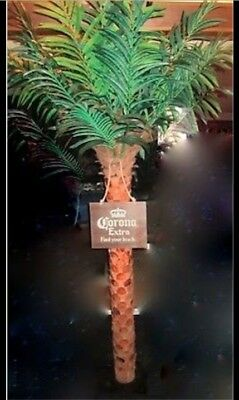 """7' Corona Extra Palm Tree Beer + Wooden """"Find your Beach"""" sign"""