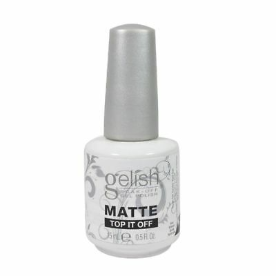 Harmony Gelish Matte top it off base Coat .5 oz. ea. Perfect nails, stylish.