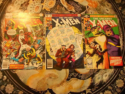 Uncanny X Men 109,141 and 142 Days of future past