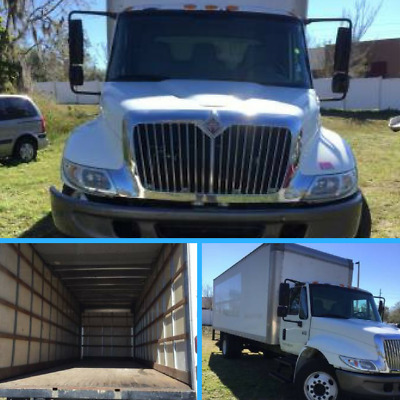 2007 International 4200 Delivery Van Box Truck  ~ Finance it w/$0 - $1,490 Down