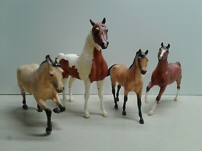 Breyer Horses Lot of 4 Unknown Names