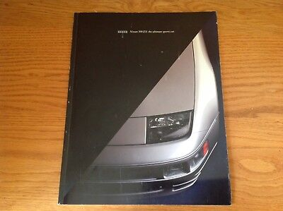 1995 Nissan 300ZX : the ultimate sports car.  Brochure