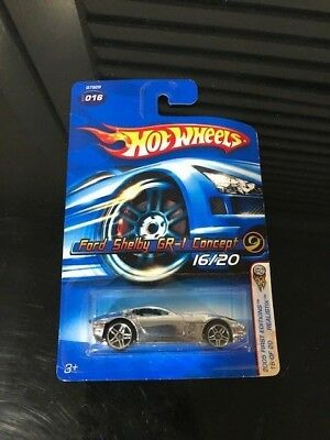 Hot Wheels Ford Shelby GR-1 Concept 16/20 2005 First Edition BRAND NEW FREE SHIP