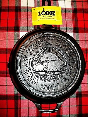 Lodge 2017 Limited Edition Smoky Mountain Skillet .made In Usa