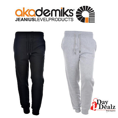 14847697a3207a New Akademiks Men's Primo Solid Fleece Jogger Pants Sweats Athletic A36Sp04
