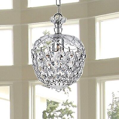 Saint Mossi Chandelier Modern K9 Crystal Raindrop Chandelier Lighting Flush m...
