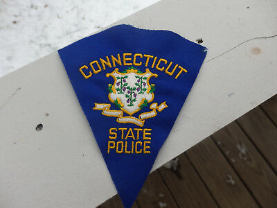 Connecticut State Police Patch (Felt)