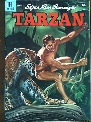 Tarzan Dell Golden Age Comic #66 VF+