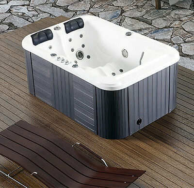 New Two 2 Person Hydrotherapy Bathtub Hot Bath Tub Whirlpool Jacuzzi SPA