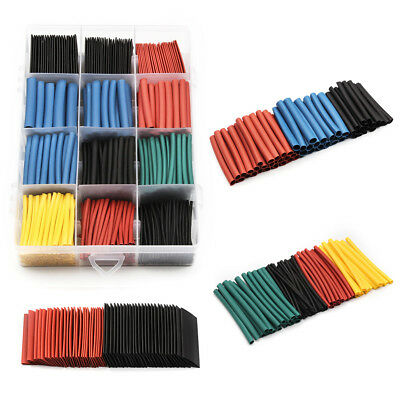 560PC Heat Shrink Tube Electrical Cable Tubing Assortment Wrap Wire Sleeve Kit