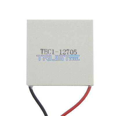 TEC1-12705 Thermoelectric Cooler Peltier 12V 50W 77Wmax  Free Shipping