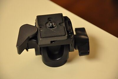 Manfrotto 234RC Tilt Head for Monopods w/Quick Release Pl Exc Cond Replace 3229