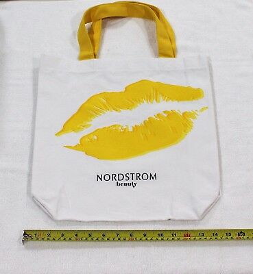 """New Nordstrom Canvas Tote """"Nordstrom Beauty"""" Shopping Bag"""