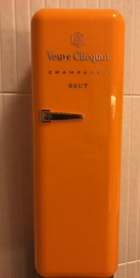Veuve Clicquot Orange Plastic Refrigerator Champagne Case (Empty)