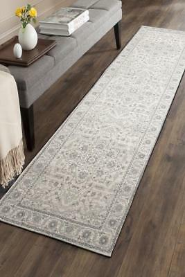 Hallway Runner Hall Runner Rug Modern Grey 5 Metres Long Premium Edith 261